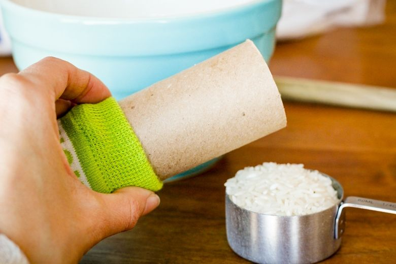 Easy nosew microwavable rice heating pad make this