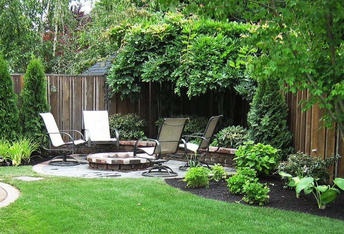 5 Focus On The Fire Backyard Landscaping Ideas Backyard Landscaping Small Backyard Landscaping Landscape Design Small Backyard landscape design ideas