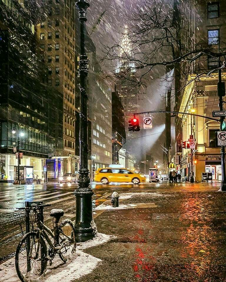The Chrysler Building Sparkles In Any Kind Of Weather