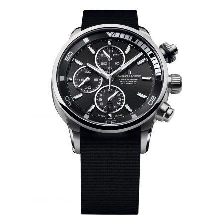 http://www.horloger-paris.com/fr/3975-maurice-lacroix-pontos   Maurice Lacroix Pontos S Chronographe Petite seconde - Automatique - Acier - 43 mm - 200 m ...