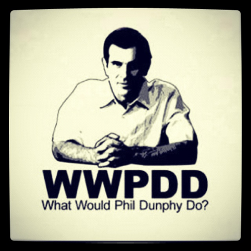 I have been told I am similar to Phil Dunphy... I take it as a compliment! :)