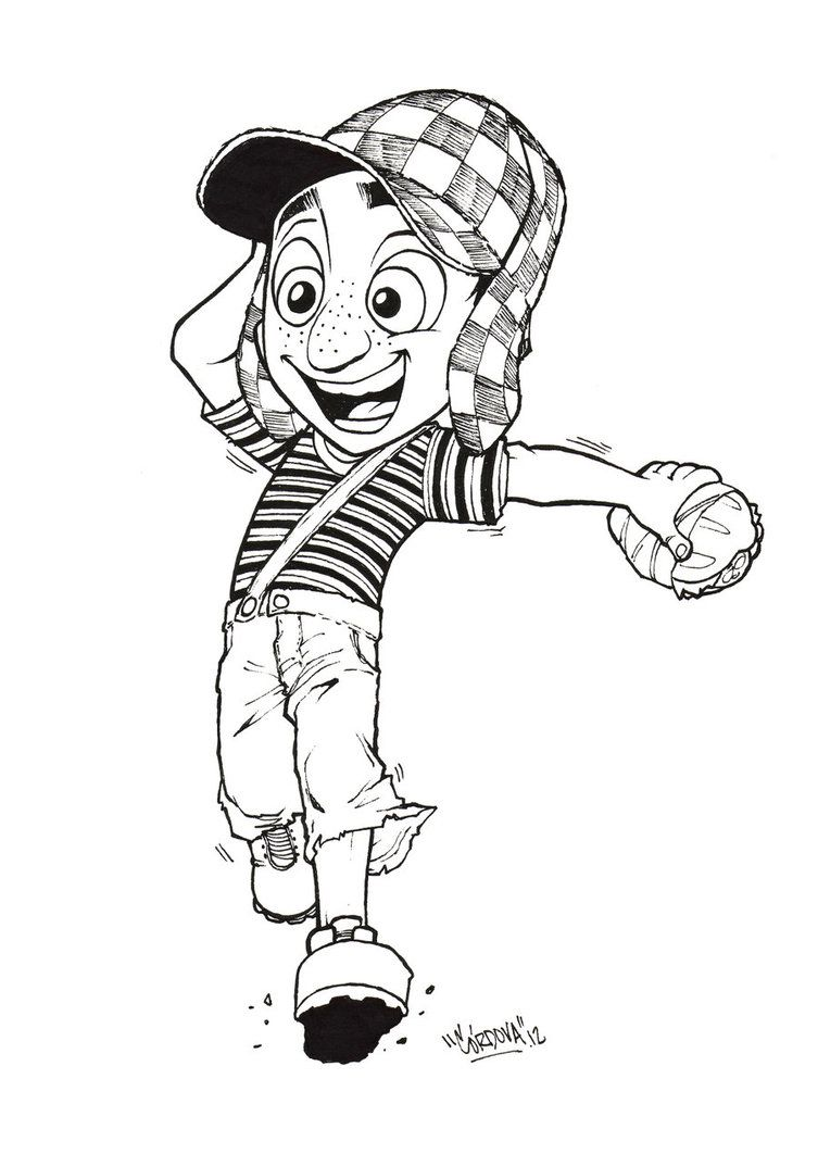 Clip Art El Chavo Del Ocho Coloring Pages 1000 images about el chavo del 8 on pinterest stage name sketchbooks and mexico city