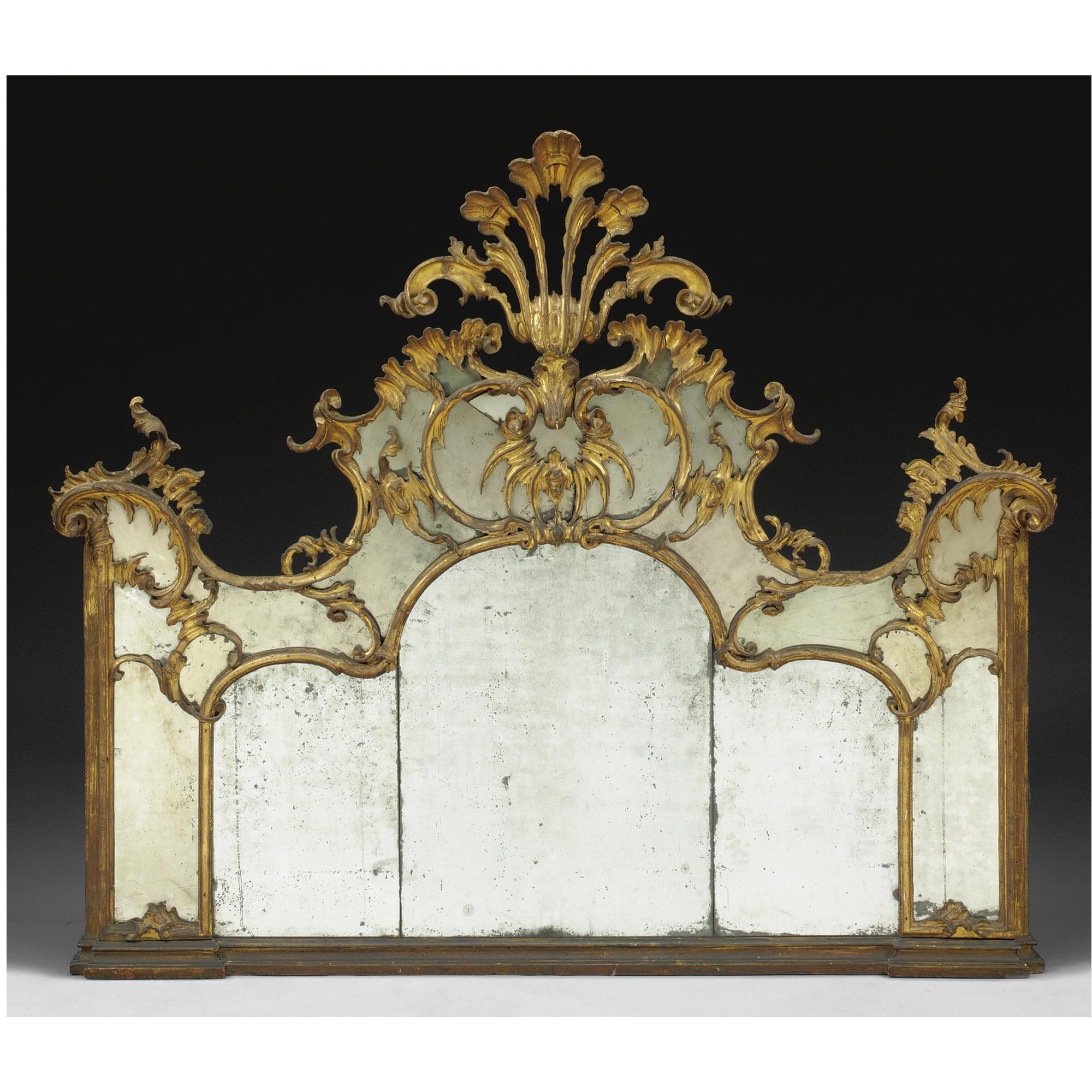Wohnzimmer spiegelmöbel a lombard carved giltwood mirror third quarter th century