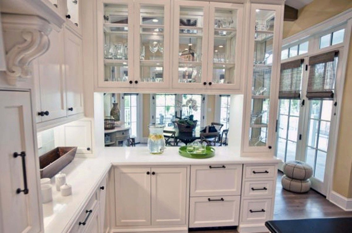 Ikea White Kitchen Cabinets With Glass Doors Home Design Ideas