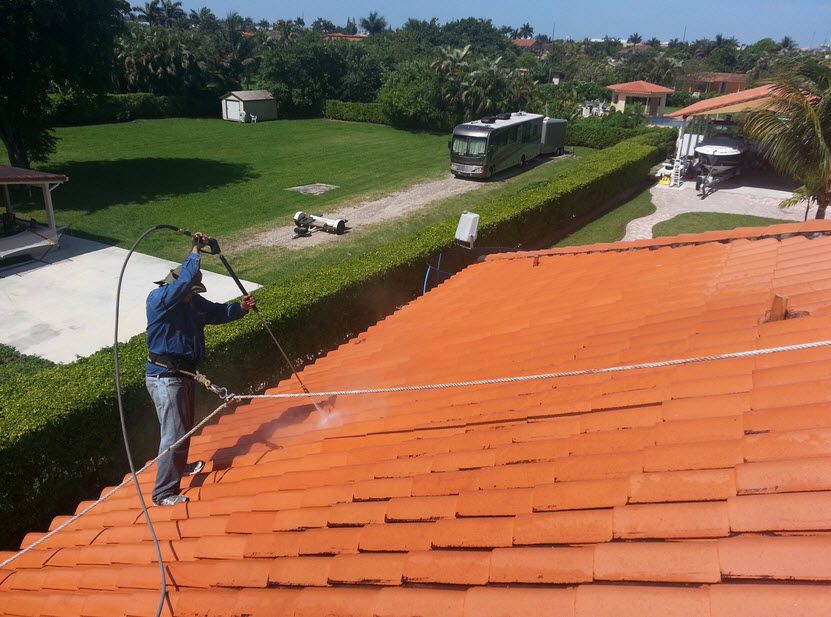 High Pressure Roofcleaning Isn T Suitable For All Roofs If Your Property Has A Roof That Contains Sh Pressure Washing Services Roof Cleaning Roof Restoration