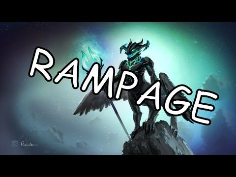 van dota 2 outworld devourer rampage one two three go