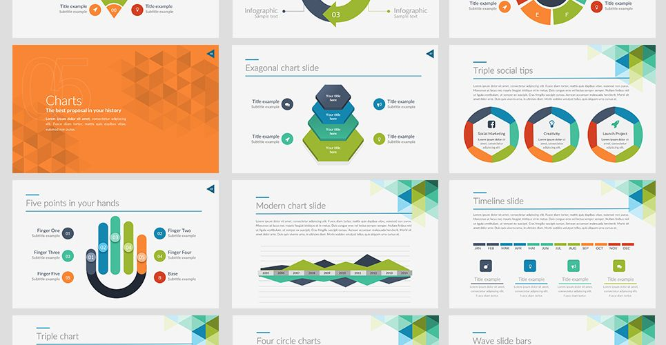 Xpress Powerpoint Template  Powerpoint Templates