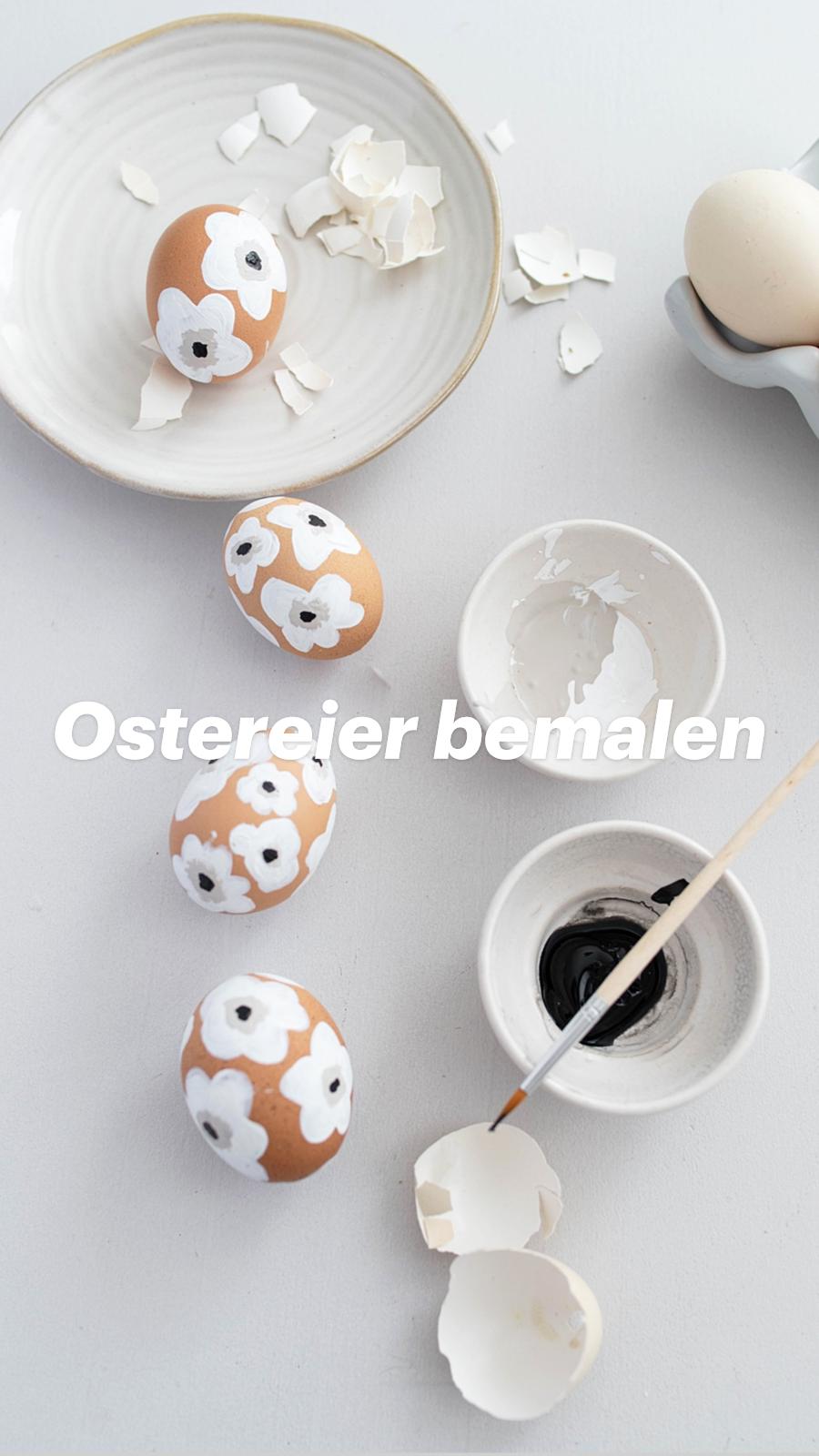 DIY Ostereier-Marimekko inspired