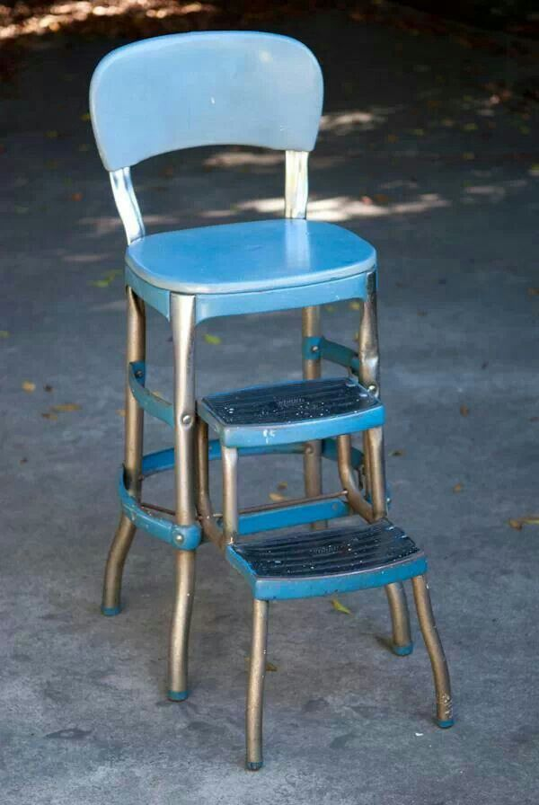 Vintage Kitchen Step Stool Retro Home Decor 60 S Amp 70 S