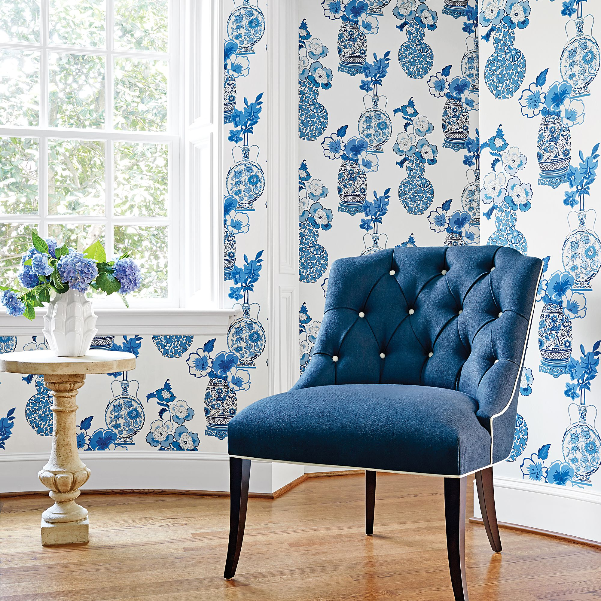 Clarissa from Serenade Collection Anna french wallpaper