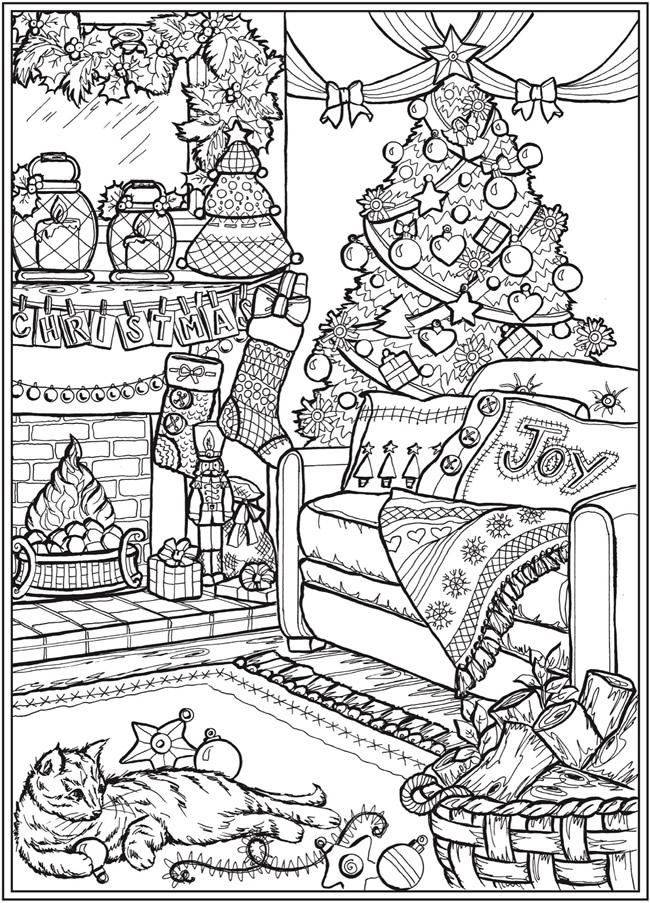 Welcome To Dover Publications Printable Christmas Coloring Pages Christmas Coloring Sheets Coloring Pages