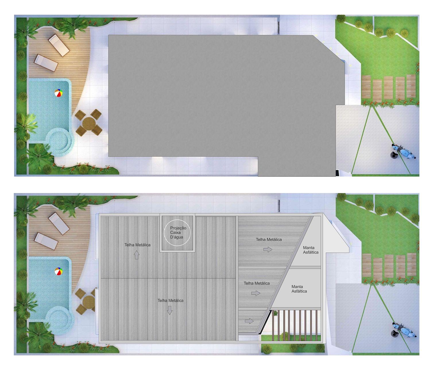 Projeto de sobrado com design inovador - Projetos de Casas - Modelos de Casas