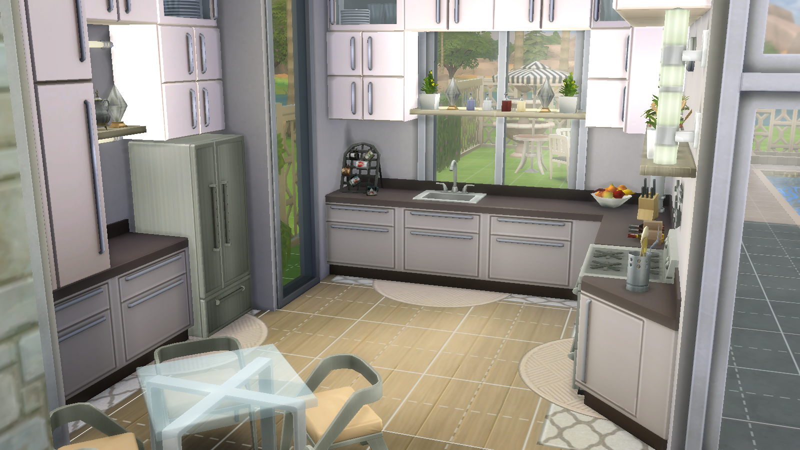 Modern kitchen , ignore the squares \u003d)