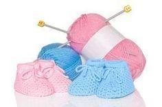 Photo of Strickanleitung für Babyschuhe und Einsteiger zum Stricken und Häkeln