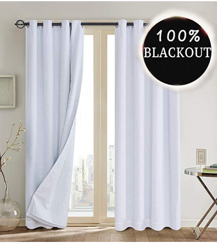 100% Blackout Thermal Insulated Curtains (With Images