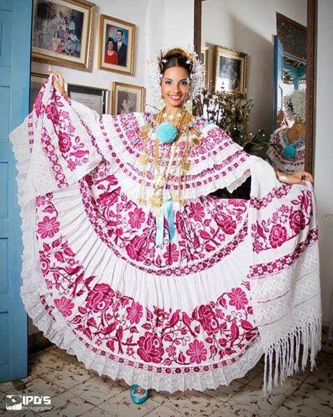 Linda pollera, Panama | Panama Culture | Panama, Tree ...
