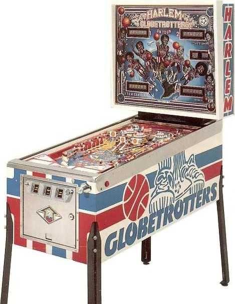 Harlem Globetrotters On Tour (Bally 1979)