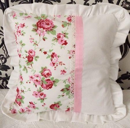 kissenh lle shabby chic rosalie stuffle unbedingt kaufen pinterest kissen n hen n hen. Black Bedroom Furniture Sets. Home Design Ideas