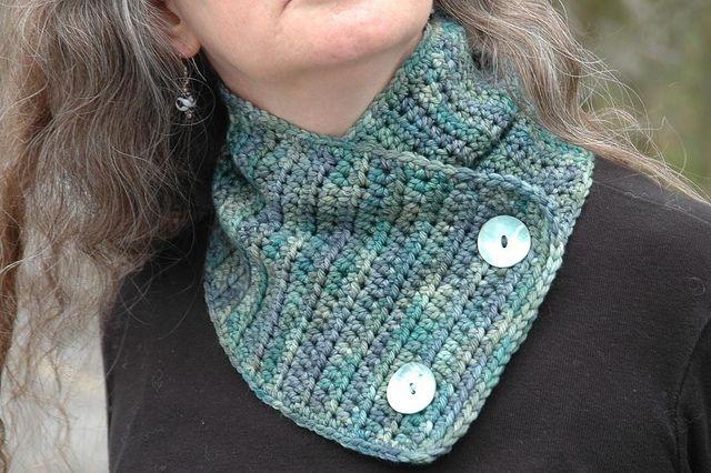 Ravelry: Easy Breezy Neckwarmer pattern by Cathy Dipierro | Crochet ...