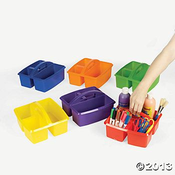 Rectangular Art Table For Kids With Compartment For Markers
