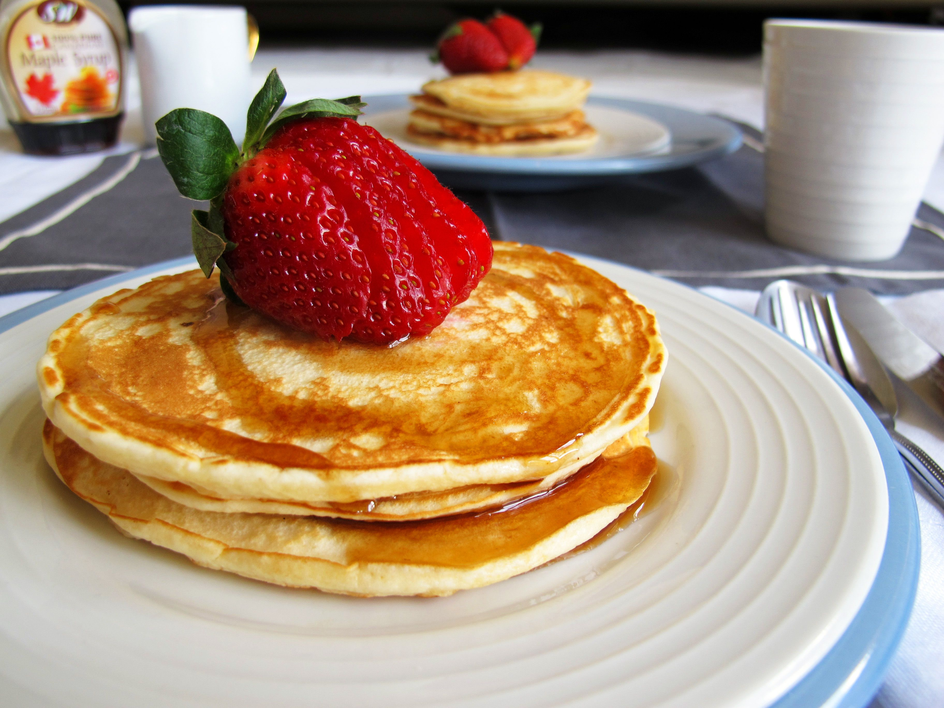 Easy pancakes pancakes butter and egg easy pancakes ccuart Images