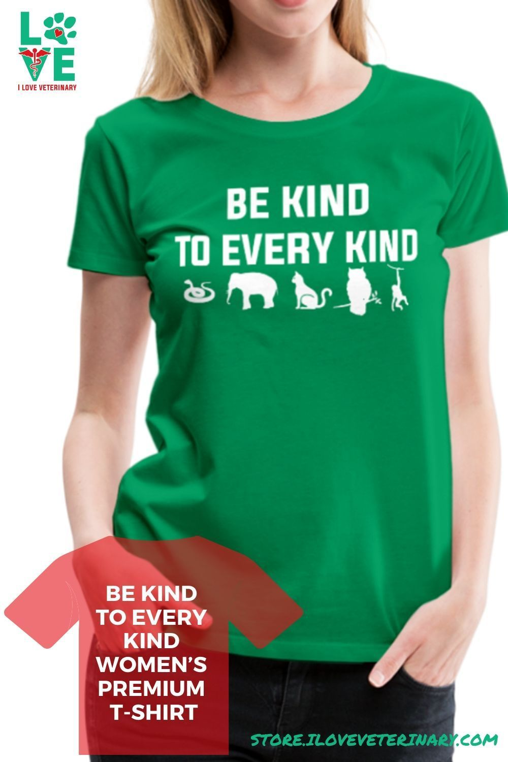 Be kind to every kind Women's Premium TShirt in 2020 T
