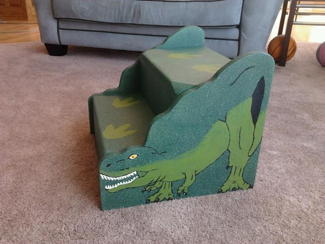 Dinosaur Step Stool Maderemade Stepstool Stool