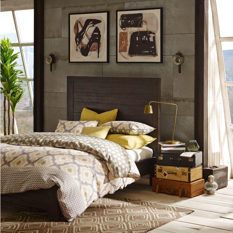 Get inspired by Industrial Bedroom Design photo by Wayfair ...