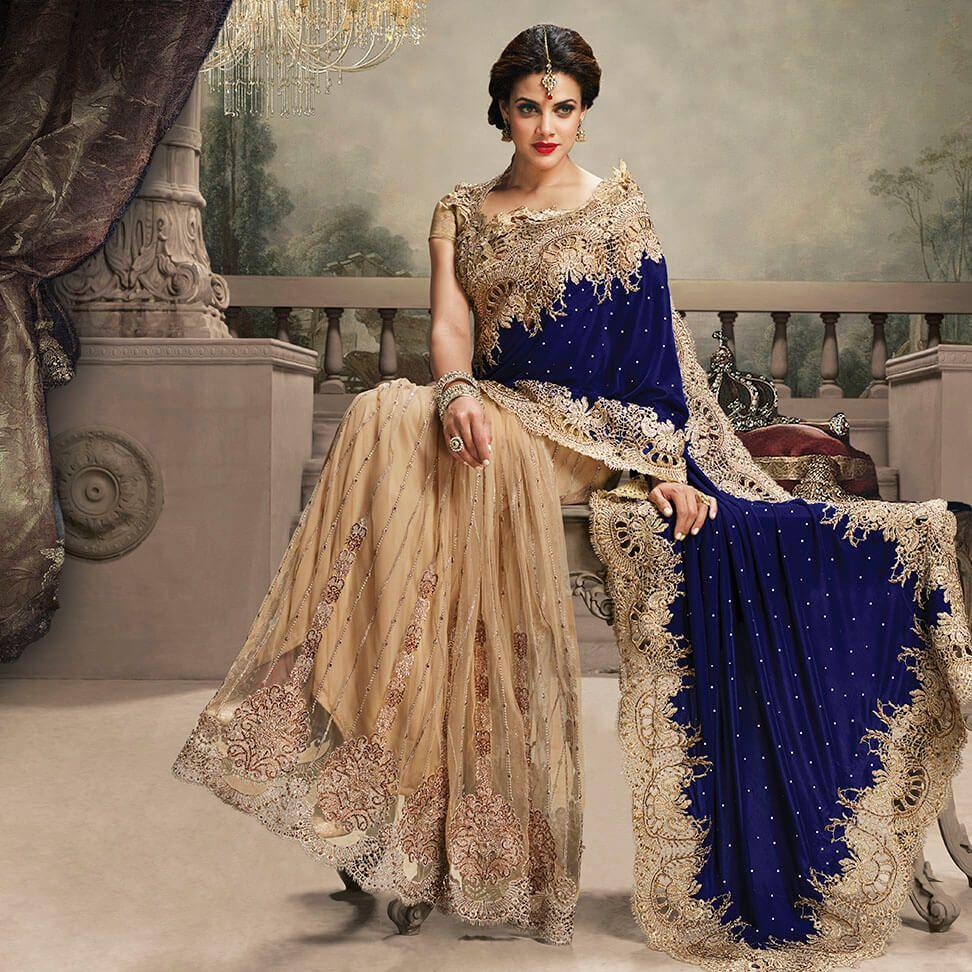 Velvet saree images half net half velvet sarees collection on drezzling lower price