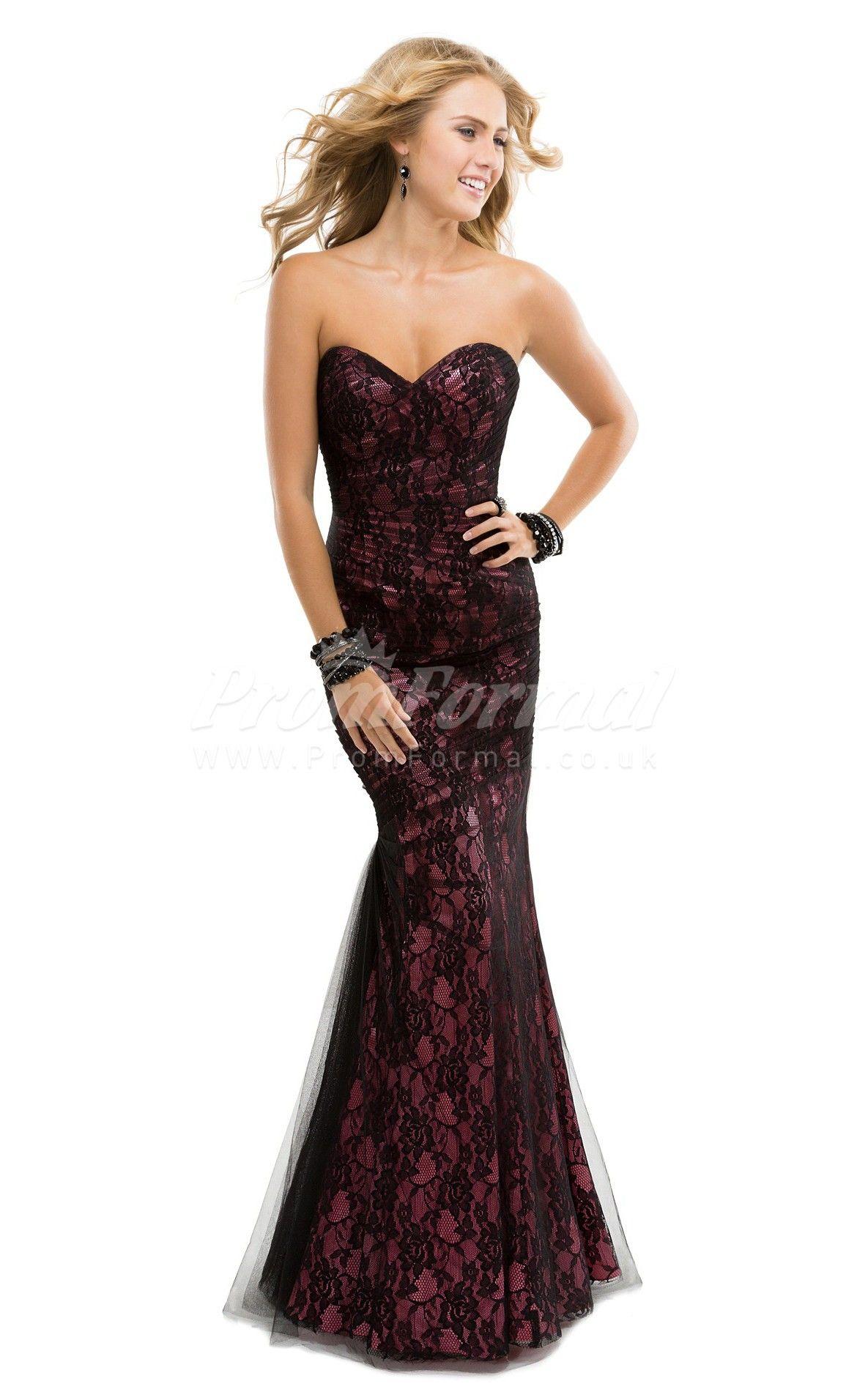 Mermaid Lace Long Prom Dress - promuk.co.uk | prom dresses | Pinterest