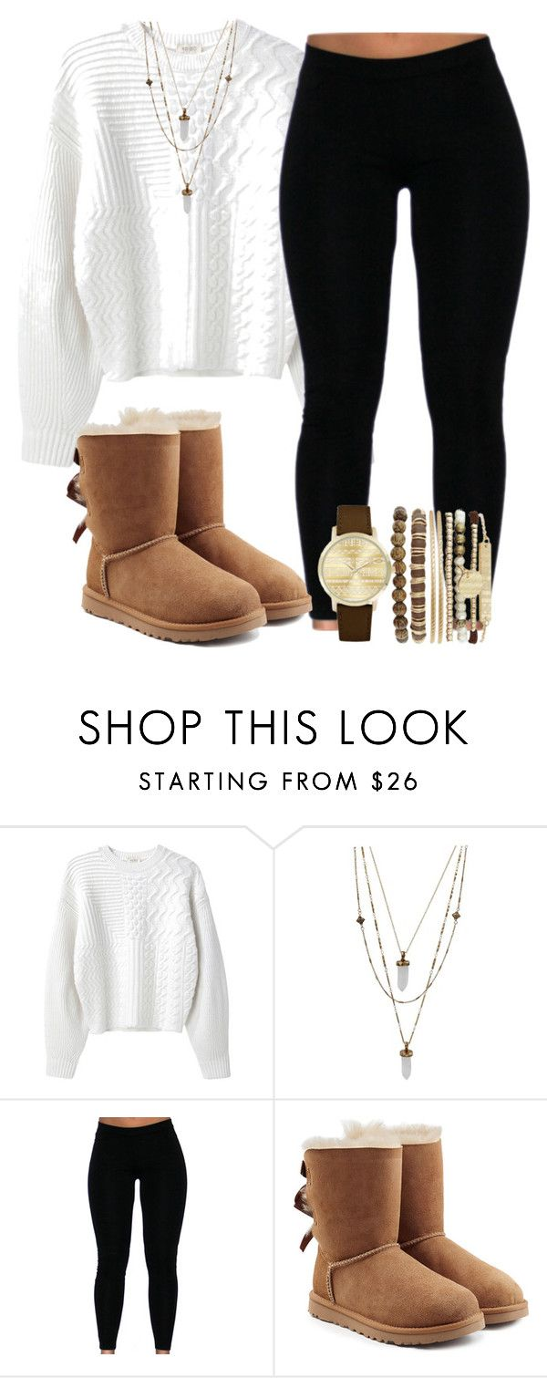 """Untitled #292"" by jaziscomplex ❤ liked on Polyvore featuring Kenzo, Retrò, UGG and Jessica Carlyle"