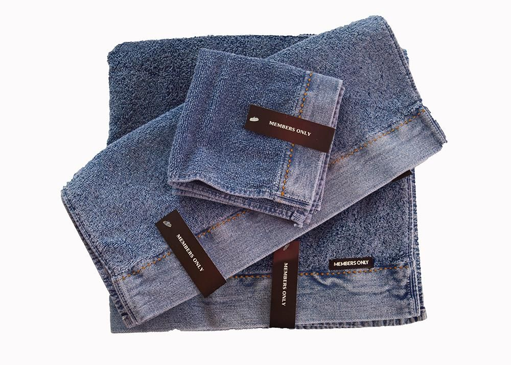 Clearance Members Only Stone Wash Towels Stone Wash Towel