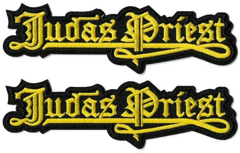 Judas Priest Rock Band Sew or Iron on Patch NEW