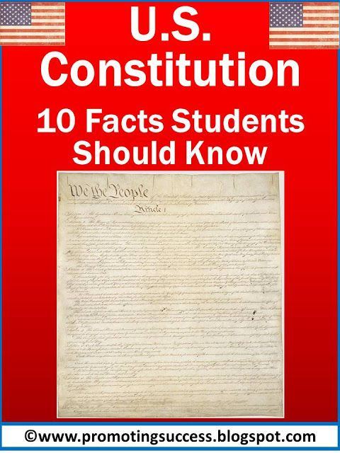 Constitution Activities For Kids
