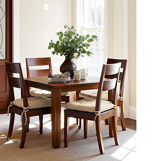 """Barrel Table And Chairs For Sale: Basque Honey 40"""" Square Dining Table In All Sale"""