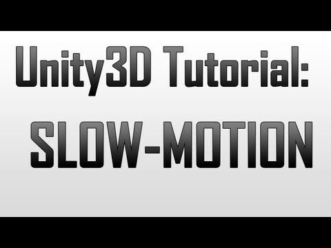 ▷ [Unity3D] Bullet-time / Slow motion effects in Unity3D - YouTube