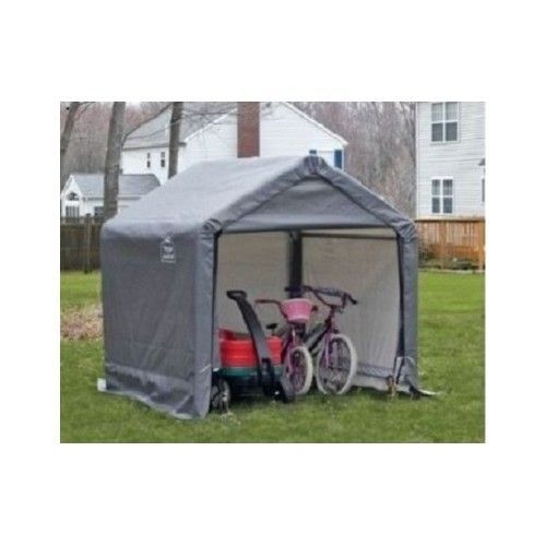 Storage Shed Garage Portable Cover Canopy Tent Outdoor Waterproof 6x6 Firewood  sc 1 st  Pinterest & Storage Shed Garage Portable Cover Canopy Tent Outdoor Waterproof ...