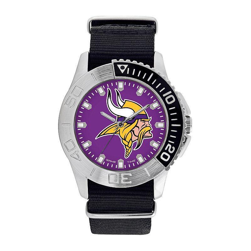 Men's Game Time Minnesota Vikings Starter Watch, Black