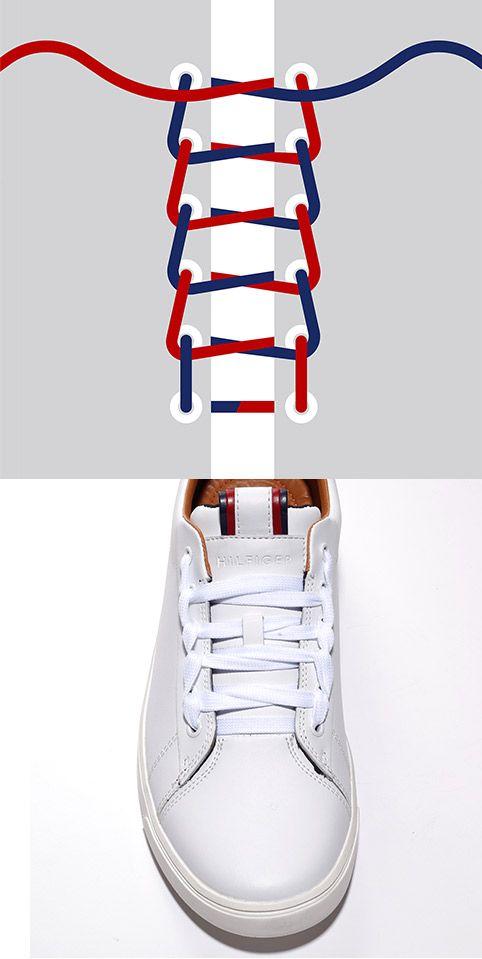 Come mettere lacci scarpe | Pizzo scarpe, Allacciare le