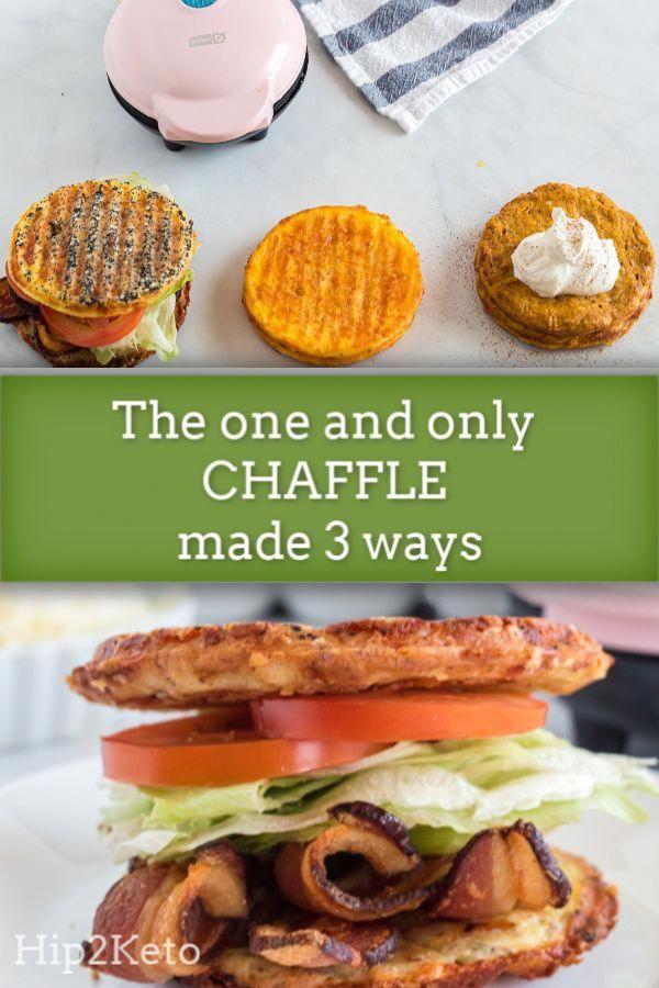 Easy Keto Chaffle Recipe (3 Ways!)