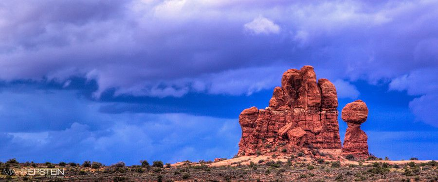 Balanced Rock by Mark Epstein on 500px