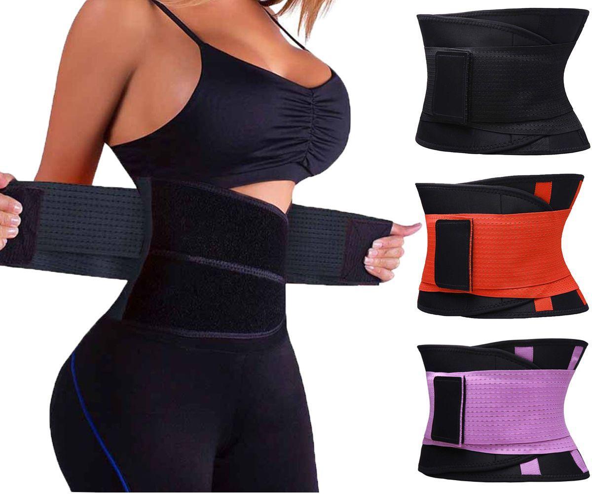 Women Corset Waist Trainer Tummy Belt Body Shaper Training Corset Trimmer Strap