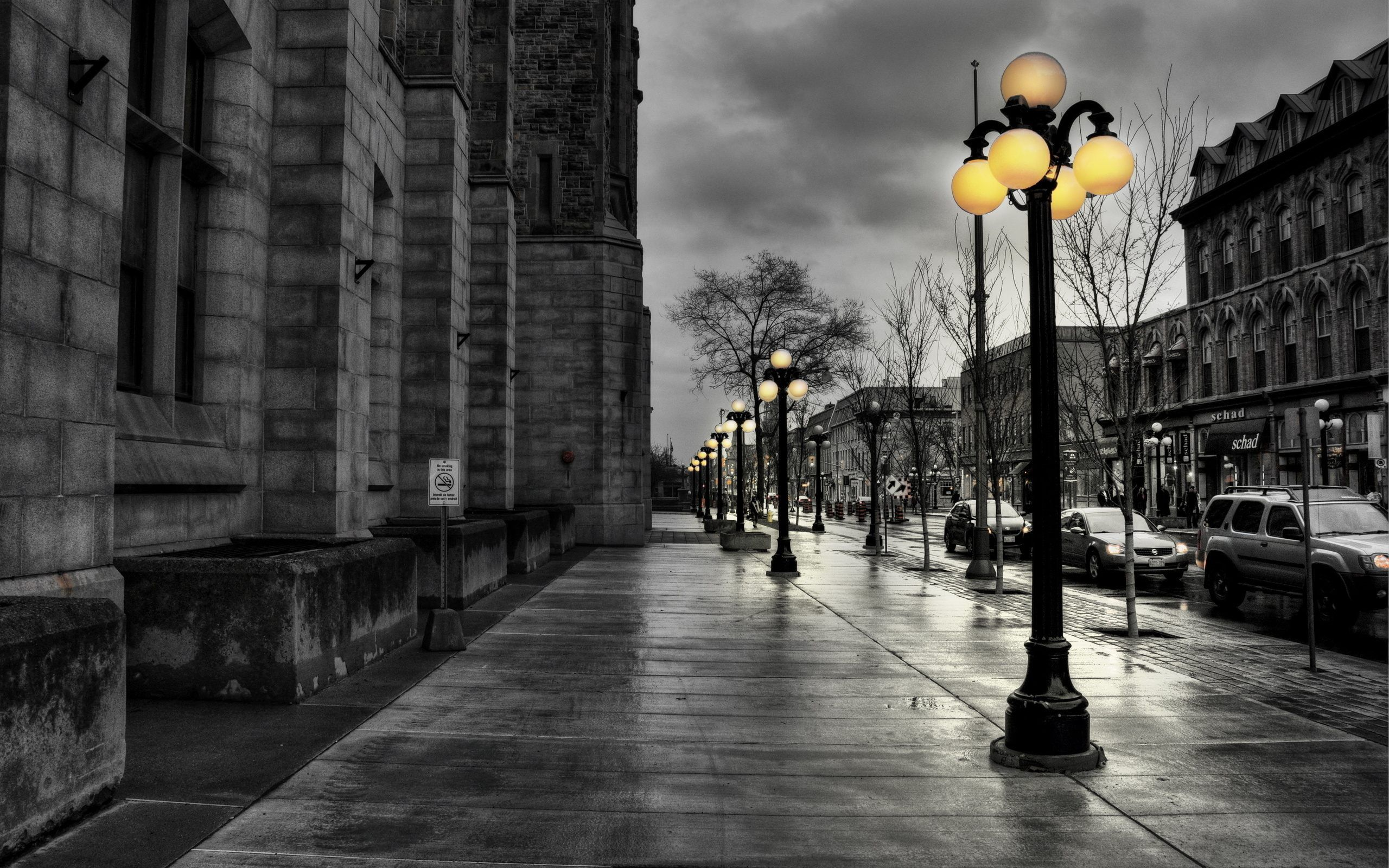 Обои фонари. Города foto 8