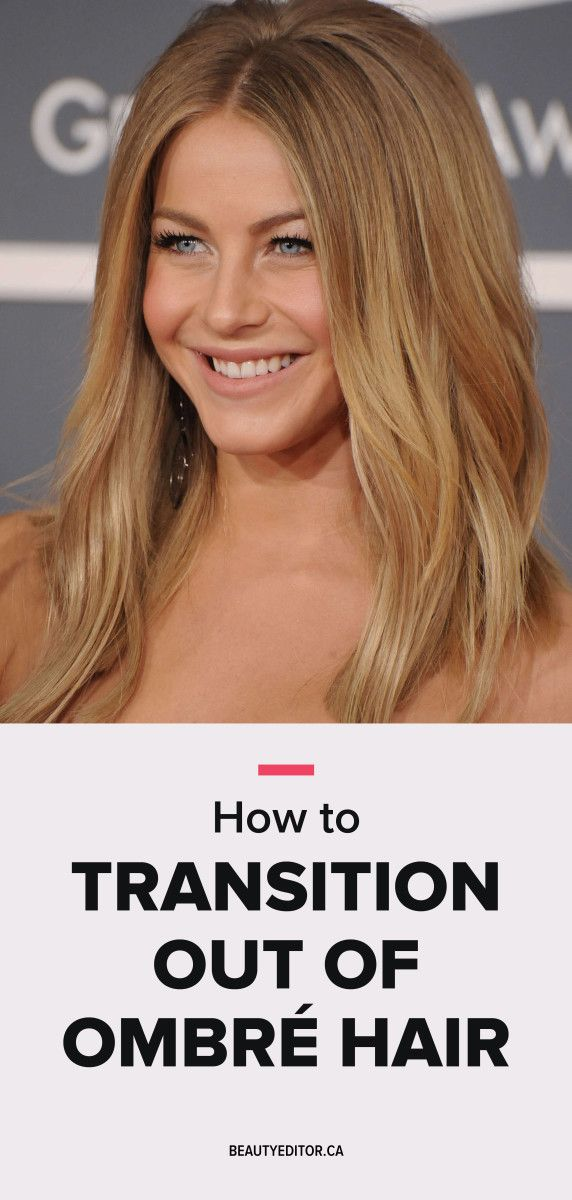 How to transition out of Ombré hair, according to celebrity hairstylist Bill Angst.