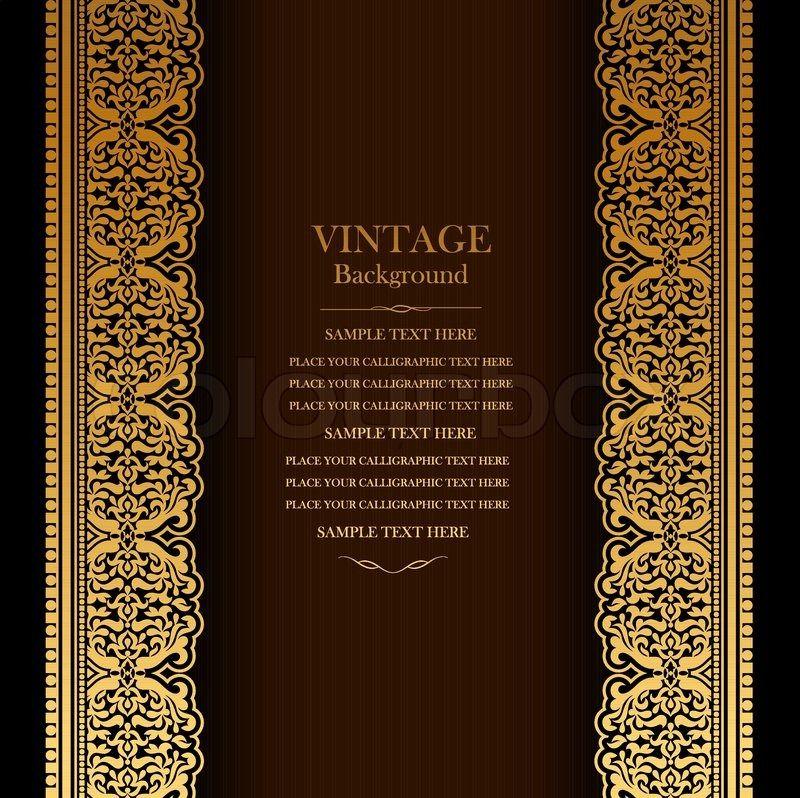 Royal Invitation Card Background New Vintage Background Design Elegant Photos In 2020 Wedding Invitation Background Background Vintage Royal Invitation