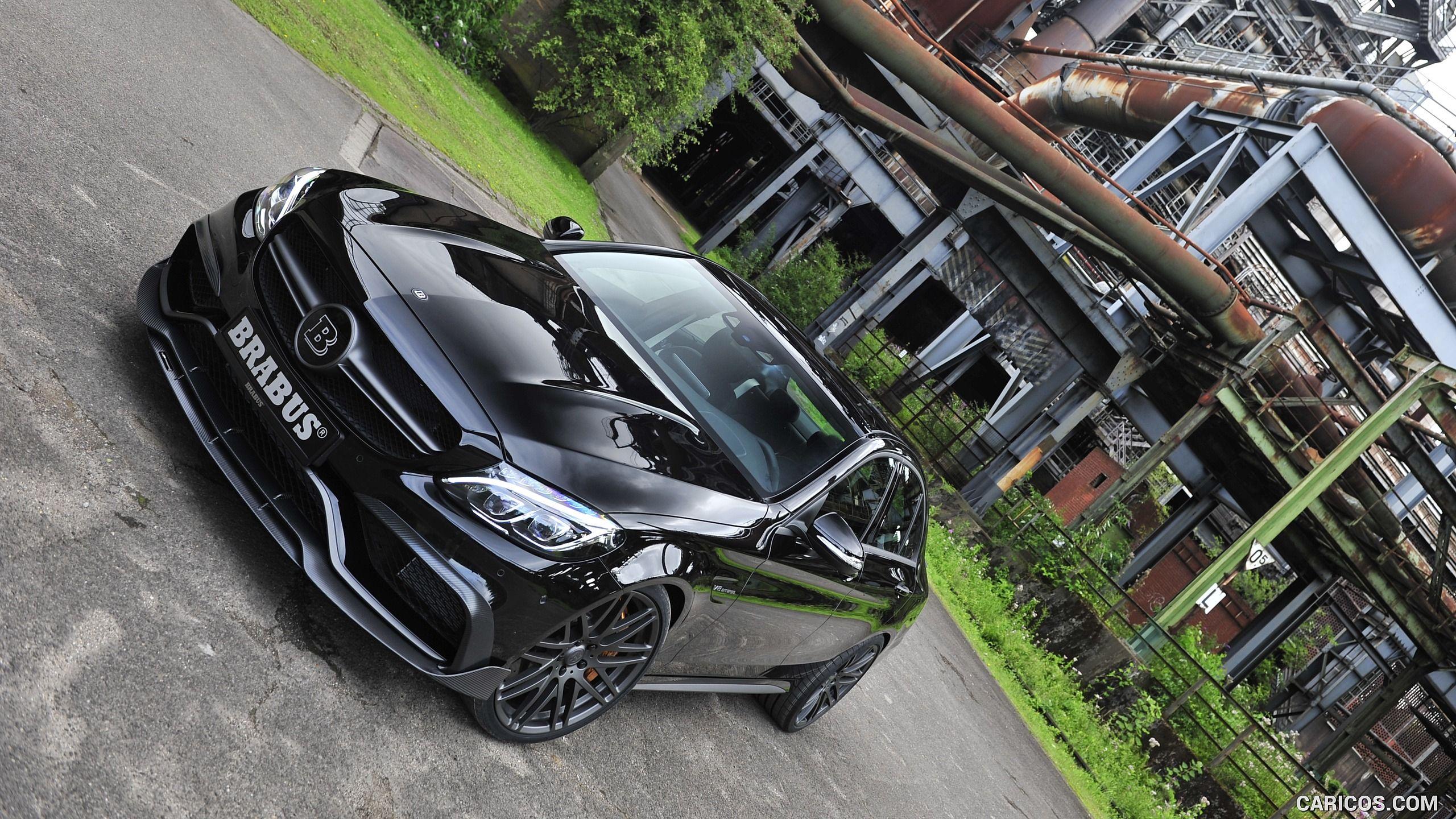 2015 BRABUS C600 based on Mercedes-AMG C63S Sedan Wallpaper