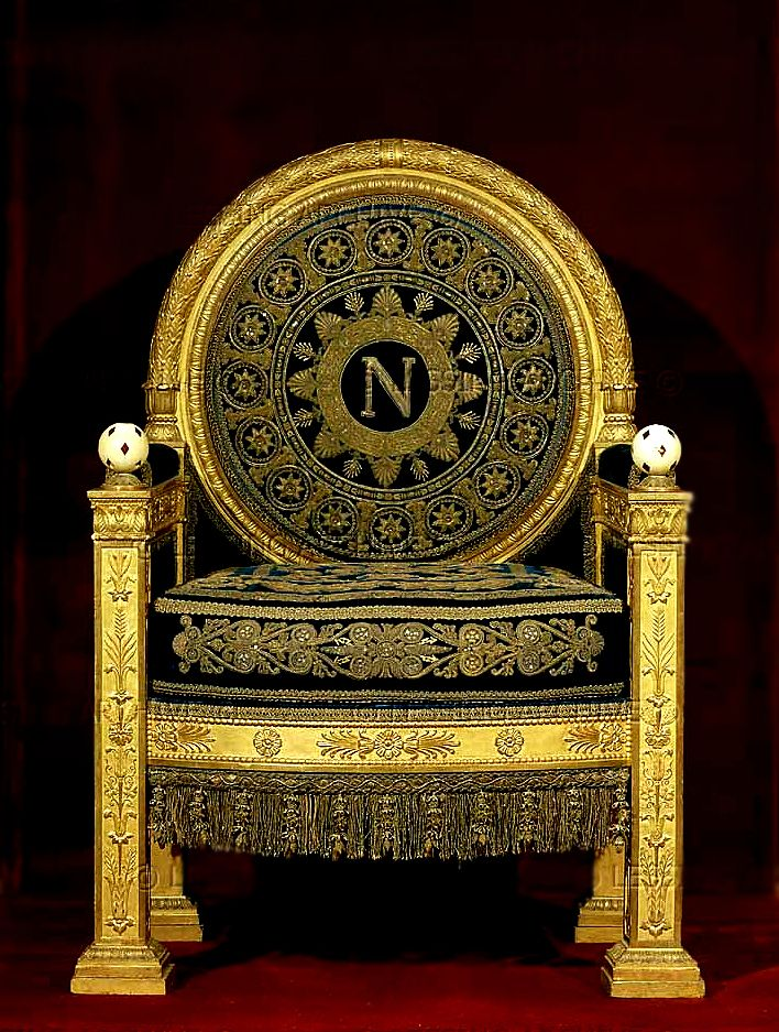 Percier et Fontaine - Napoleon\'s Throne | Decor | Pinterest ...