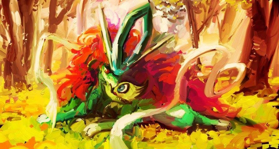 Suicune & Celebi - Pokemon