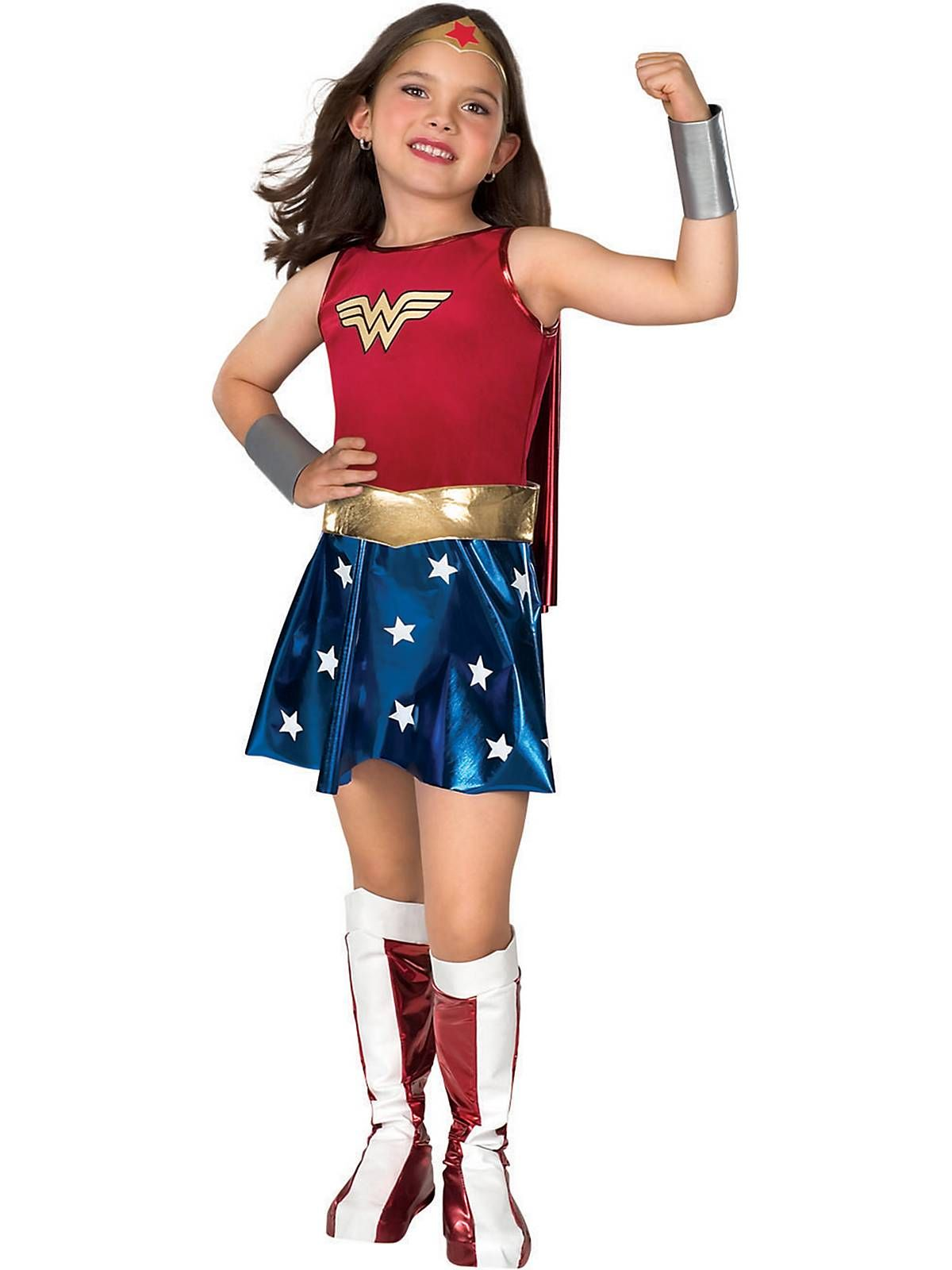 Deluxe Wonder Woman Childrens Costume | Wonder Woman, Justice ...