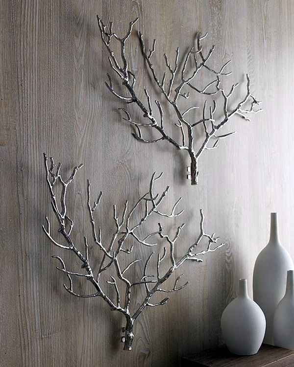 40 Inspirational Tree Branches Decoration Ideas Tree Branch Wall